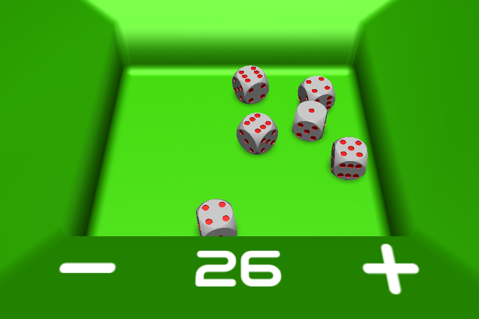 Screenshot Dice – 3D